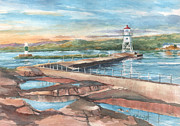 Kerry Kupferschmidt - Grand Marais Harbor