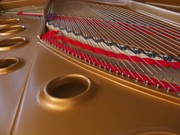 Ann Horn Prints - Grand Piano Print by Ann Horn