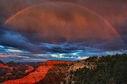 The Grand Canyon Framed Prints - Grand Rainbow Framed Print by Adam Jewell
