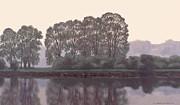Grand River Sentinels Print by Michael Swanson