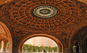Suitcase Framed Prints - Grand Rotunda Pennsylvanian PIttsburgh Framed Print by Amy Cicconi