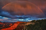 Mather Prints - Grand Sunset Rainbow Print by Adam Jewell