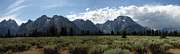 Grand Teton National Park Panorama Print by Christiane Schulze Art And Photography