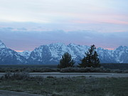 Shawn Hughes - Grand Tetons After Sunset