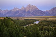 Alan Vance Ley - Grand Tetons Morning