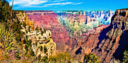 Lapin Framed Prints - Grand View of Grand Canyon Framed Print by Nadine and Bob Johnston
