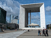 Paris France Posters - Grande Arche de la Defense Poster by Paris France