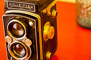 Film Camera Photo Prints - Grandfathers Camera Print by Mark Weaver