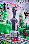 Poppies Paintings - Grandfathers Retribution by Ronald Haber