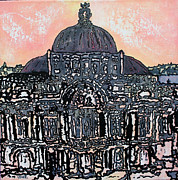Dome Paintings - Grandiose  by Oscar Penalber
