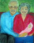 Family Love Pastels - Grandlove by Beth Sebring