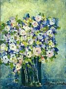 Grandma's Flowers Print by Sherry Harradence