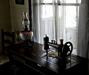 Oil Lamp Photos - Grandmas House by James Stough