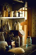 Ball Jar Posters - Grandmas Kitchen Poster by Julie Palencia