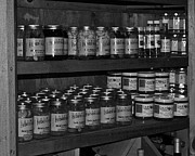 Cans Art - Grandmas Pantry by Robert Harmon