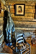 Overalls Art - Grandpas Closet by Jan Amiss Photography