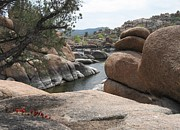 Granite Bedrock Photos - Granite Dells Arizona by Robert W Smith