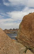 Watson Lake Photos - Granite Dells Boulders Arizona by Robert W Smith