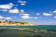 Tim Hester Prints - Granite Island South Australia Print by Tim Hester