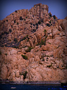 Watson Lake Photos - Granite Monoliths Rising High Above the Lake by Aaron Burrows