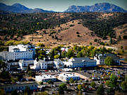 Prescott Photos - Granite Mountain Over Fort Whipple by Aaron Burrows