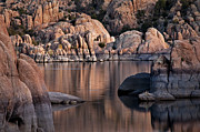 Watson Lake Photos - Granite Reflections by Mark Baldwin