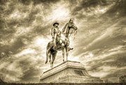 Confederate Monument Prints - Grant Print by Tracy B