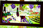 Coloured Originals - Grape coloured glass by Graham Foulkes