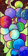 Greatest Painting Originals - Grape de Chine by Sandi Whetzel