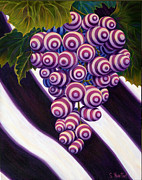 Greatest Painting Originals - Grape de Menthe by Sandi Whetzel