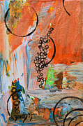 Harvest Originals - Grape Harvest by Donna Blackhall