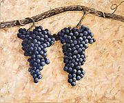 Grape Vine Print by Darice Machel McGuire