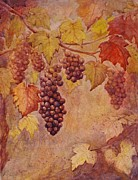 Grape Vines Originals - Grape-vines by Paul Ros