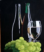 Michele Turney - Grapes and Glass