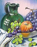Marilyn  McNish - Grapes Galore