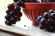 Fine Photography Art Photos - Grapes of delight by Constance Fein Harding