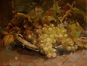 Grapes Art Originals - Grapes Still Life by Vahe Yeremyan
