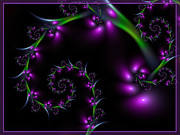 Grape Vine Digital Art - Grapevine by Lena Auxier