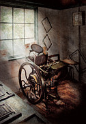 Wheels Photos - Graphic Artist - The humble printing press by Mike Savad
