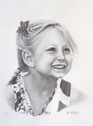 Michelle Harrington - Graphite Portrait Drawing
