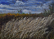 Thunder Paintings - Grasses in the Breeze by Lori Kallay
