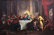 Bible Character Prints - Grassi Nicola, Last Supper, 18th Print by Everett