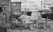 Talking Metal Prints - Grateful Buddies Metal Print by Betsy A Cutler East Coast Barrier Islands