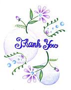 Gratitude Print by Keiko Katsuta