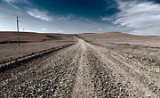 Gravel Road Photos - Gravel Dreams by Eric Benjamin