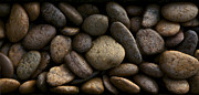 Up Close. Texture Originals - Gravel Stone Rock Spa Massage Background by Suriya  Silsaksom