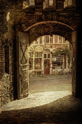 Light And Shadow Photos - Gravensteen Doorway by Joan Carroll