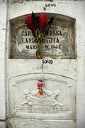 Graveyard At La Ciudad Blanca Print by Sami Sarkis