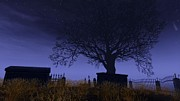 Graveyard Digital Art - Graveyard experience by William Zettler