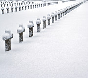 Fallen Soldier Photos - Graveyard In Snow by Dirk Ercken